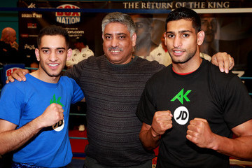 Haroon Khan Boxing Media Workouts