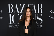 "Julia Restoin Roitfeld attends as Harper's BAZAAR celebrates ""ICONS By Carine Roitfeld"" at The Plaza Hotel presented by Cartier - Arrivals on September 06, 2019 in New York City."