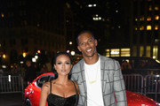 """Karrueche Tran and Victor Cruz as Harper's BAZAAR Celebrates """"ICONS By Carine Roitfeld"""" at the Plaza Hotel on September 7, 2018 in New York City."""
