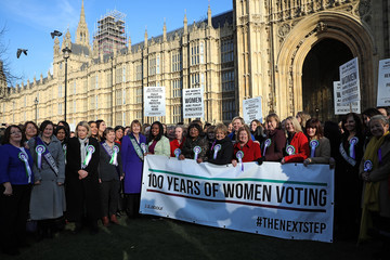 Harriet Harman The Labour Party Commemorate the Centenary of Women's Suffrage