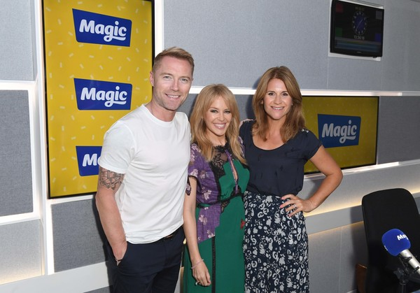 Harriet Scott and Ronan Keating Photos Photos - Kylie
