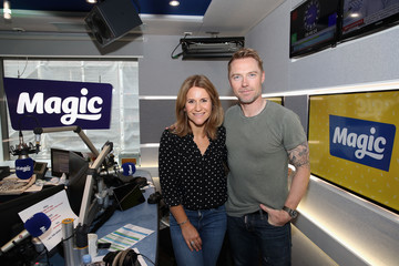 Harriet Scott Boyzone Visit Magic Radio