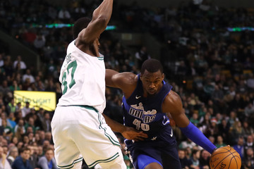 Harrison Barnes Dallas Mavericks v Boston Celtics