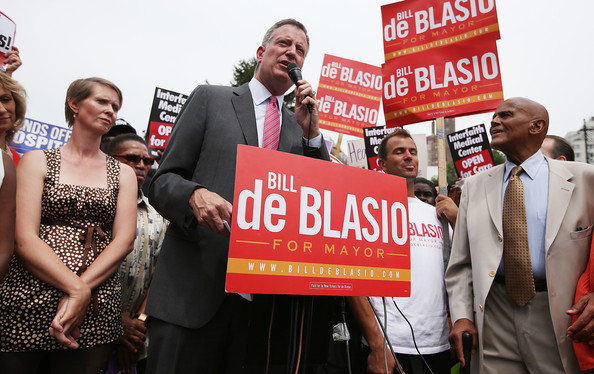 Celebs Support NYC Mayoral Candidate Bill de Blasio