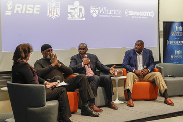 Harry Carson SiriusXM Business Radio Broadcasts 'Beyond The Game: Tackling Race' From Wharton San Francisco