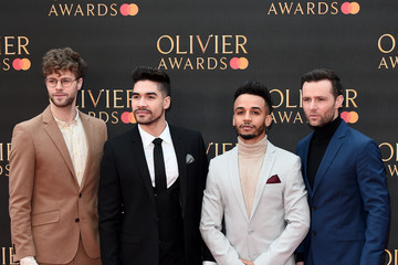 Harry Judd The Olivier Awards 2019 With MasterCard - Red Carpet Arrivals