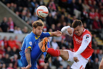 Harry Pell Morecambe v AFC Wimbledon - Sky Bet League Two