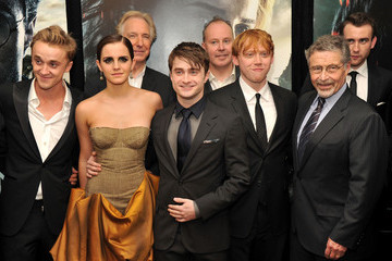 """Daniel Radcliffe Emma Watson """"Harry Potter And The Deathly Hallows: Part 2"""" New York Premiere - Arrivals"""