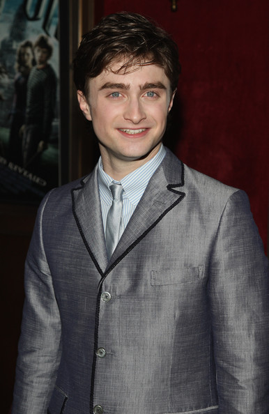 "Daniel Radcliffe Actor Daniel Radcliffe attends the ""Harry Potter and the Half-Blood Prince"" premiere at Ziegfeld Theatre on July 9, 2009 in New York City."