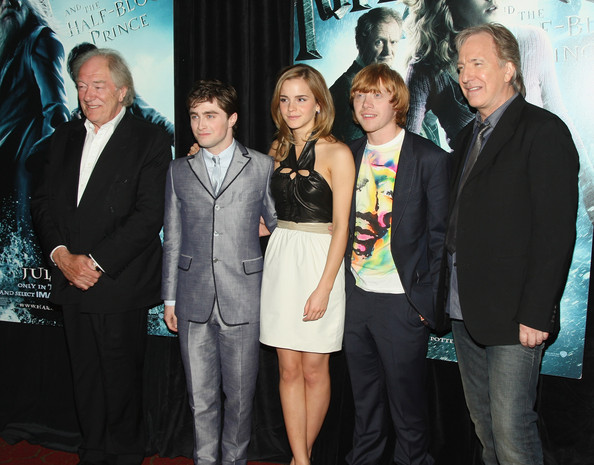 """Alan Rickman Family """"harry potter and the"""