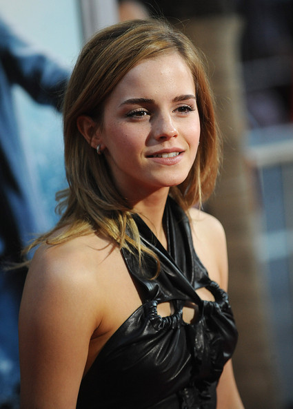 Emma Watson attends the premiere of