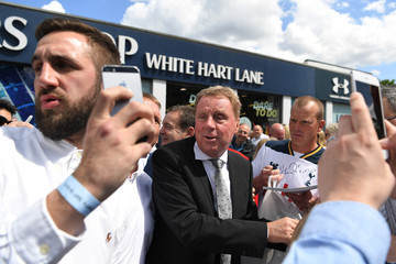 Harry Redknapp Tottenham Hotspur v Manchester United - Premier League