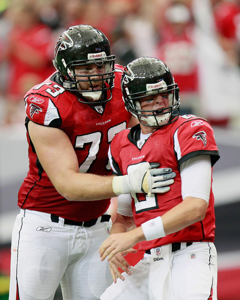 Harvey Dahl watches over Matt Ryan