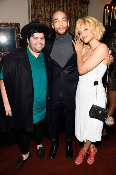Entertainment Weekly Celebration Honoring the Screen Actors Guild Nominees Presented By Maybelline At Chateau Marmont In Los Angeles - Inside [event,dress,fashion,formal wear,suit,little black dress,premiere,carpet,flooring,style,nominees,kiersey clemons,actors,harvey guillen,kendrick sampson,chateau marmont,los angeles,maybelline,screen actors guild,entertainment weekly celebration]