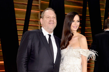 Harvey Weinstein Stars at the Vanity Fair Oscar Party