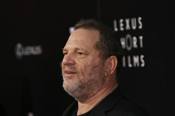 Harvey Weinstein Arrivals at the Lexus Short Films Event
