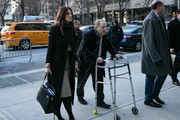 Harvey Weinstein and his lawyer Donna Rotunno arrive at New York City Criminal Court on January 21, 2020 in New York City. Weinstein, a movie producer whose alleged sexual misconduct helped spark the #MeToo movement, pleaded not-guilty on five counts of rape and sexual assault against two unnamed women and faces a possible life sentence in prison.