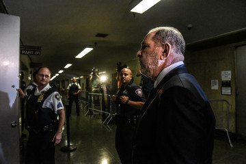 Harvey Weinstein Harvey Weinstein Attends Court Hearing