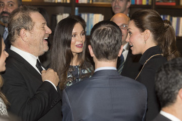 Harvey Weinstein British Royals Attend the Innovation Is GREAT Reception