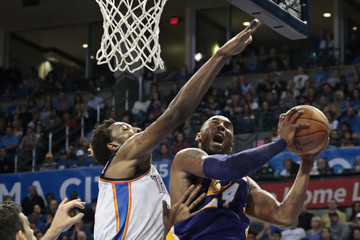Hasheem Thabeet Los Angeles Lakers v Oklahoma City Thunder