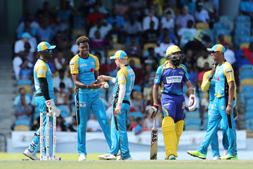 Hashim Amla Barbados Tridents v St Lucia Stars - 2018 Hero Caribbean Premier League (CPL) Tournament