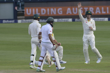 Hashim Amla South Africa vs. Australia - 4th Test: Day 3