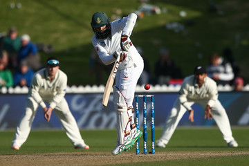 Hashim Amla New Zealand v South Africa - 2nd Test: Day 3