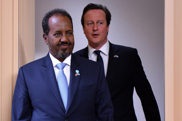 Hassan Sheikh Mohamud Somalia Conference in London