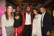 Josh Norman and Deyvanshi Masrani Photos Photo
