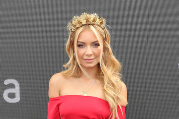 Havana Brown Celebrities Attend Melbourne Cup Day