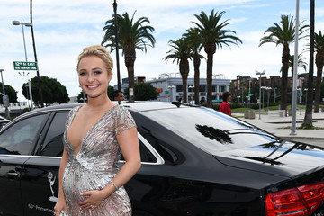 Hayden Panettiere Audi Arrivals at the 66th Primetime Emmy Awards