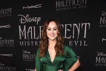 Hayley Orrantia World Premiere Of Disney's 'Maleficent: Mistress of Evil'