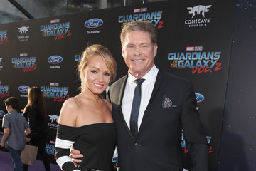 Hayley Roberts The World Premiere of Marvel Studios' 'Guardians of the Galaxy Vol. 2'
