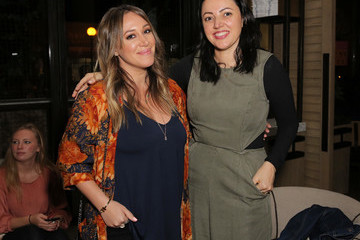 Haylie Duff Hilary and Haylie Duff Host the Launch of Words with Friends 2 at Norah Restaurant
