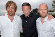 """(L-R) Director Morten Tyldum, author Jo Nesbo and actor Aksel Hennie attend the """"Headhunters"""" photocall during the 64th Annual Cannes Film Festival at Majestic Hotel on May 14, 2011 in Cannes, France."""