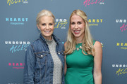 Actress Monica Potter and Editor in Chief of Country Living Rachel Hardage Barrett attend Hearst Magazines MAGFRONT 2015 at Hearst Tower on October 27, 2015 in New York City.