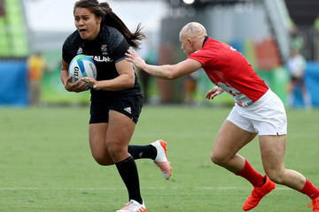 Heather Fisher Rugby - Olympics: Day 3