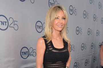 Heather Locklear Arrivals at TNT's 25th Anniversary Party