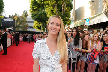 "Heather Morris Premiere Of Columbia Pictures' ""22 Jump Street"" - Red Carpet"
