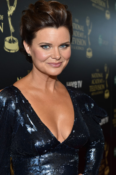 Heather Tom Actress Heather Tom attends The 41st Annual Daytime Emmy ...