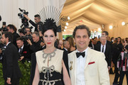 Jill Kargman and Harry Kargman attend the Heavenly Bodies: Fashion & The Catholic Imagination Costume Institute Gala at The Metropolitan Museum of Art on May 7, 2018 in New York City.