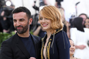 Emma Stone Nicolas Ghesquiere Photos Photo