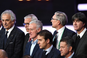 Hector Cuper Final Draw for the 2018 FIFA World Cup Russia