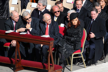 Hector Timerman The Inauguration Mass For Pope Francis I