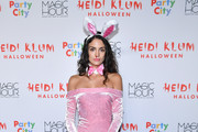 Sofia Resing attends Heidi Klum's 18th annual Halloween Party presented by Party City at the Magic Hour Rooftop Bar & Lounge on October 31, 2017 in New York City.