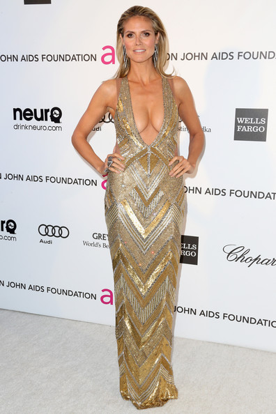 Heidi Klum - 21st Annual Elton John AIDS Foundation's Oscar Viewing Party - Arrivals