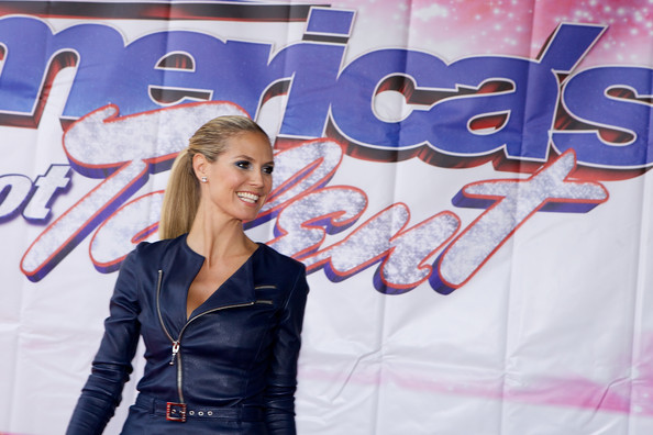 Heidi Klum attends 'America's Got Talent' season 8 meet the judges