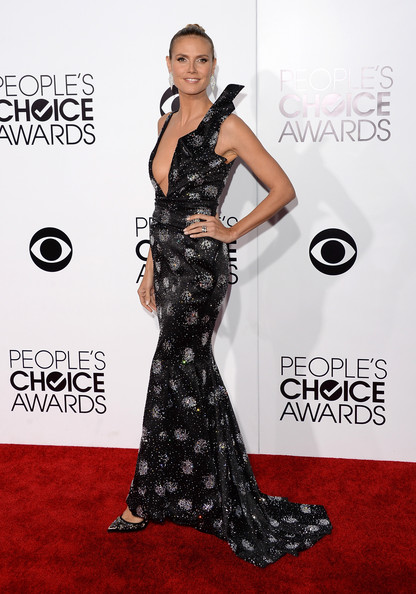 Heidi Klum - Arrivals at the People's Choice Awards — Part 3