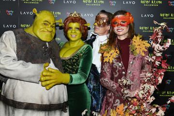 Heidi Klum Desiree Gruber Heidi Klum's 19th Annual Halloween Party Presented By Party City And SVEDKA Vodka At LAVO New York - Arrivals