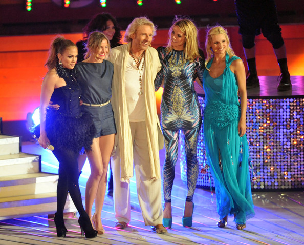 Heidi Klum and Jennifer Lopez - Thomas Gottschalk's Last 'Wetten dass...?' Summer Edition From Mallorca